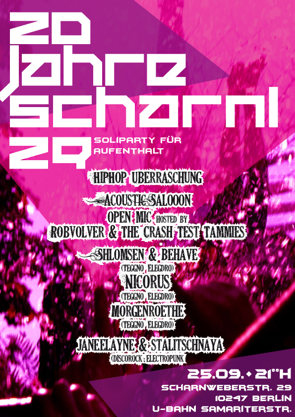 Party Scharni29