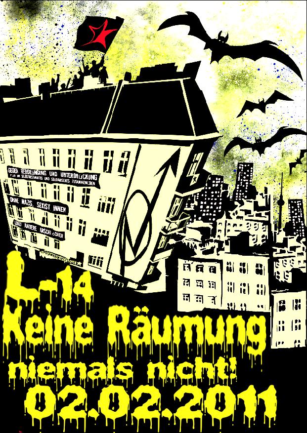 Plakat Liebig14 verteidigen
